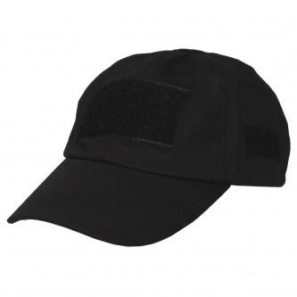 Шапка с козирка , модел  , Operations Cap, with velcro, one size fits all, black , 100% памук .