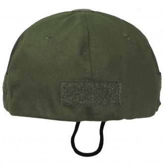 Шапка с козирка , модел  ,Operations Cap, with velcro, one size fits all, OD green  , 100% памук .