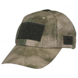 Шапка с козирка , модел  , Operations Cap, with velcro, one size fits all, HDT camo green  , 65% памук , 35% полиестер.