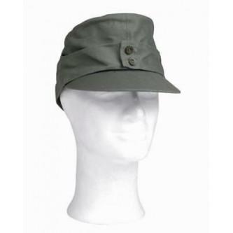 Немска военна полева шапка с наушници'' M43 moleskin field cap  german army WW2 '' цвят ''олив''