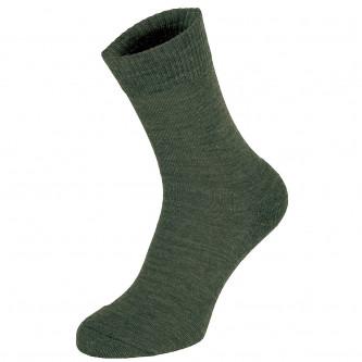 "Чорапи ""Merino"" , цвят  ''  OD green''"