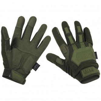 """Ръкавици , тактически , модел , """"Action"""", OD green"""