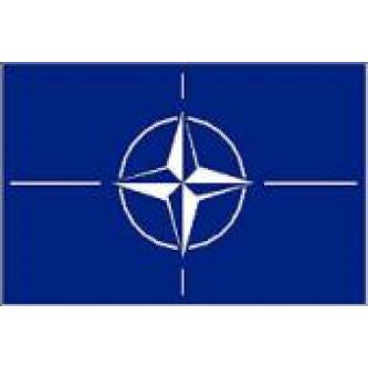 Флаг '' НАТО '' , размер 90х150 см