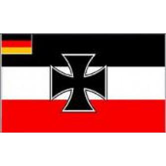 Флаг , GERMAN EMPIRE W/ IRON CROSS