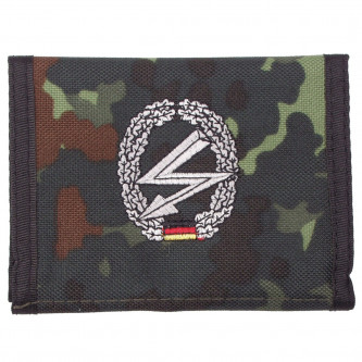 Портфейл камуфлажен ,  BW camo , лого В