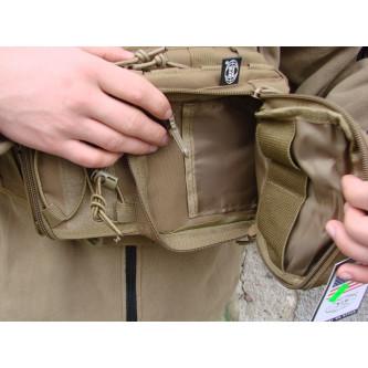 Чанта оргънайзер за ръчно носене и носене през рамо , система ''молле''  койот.