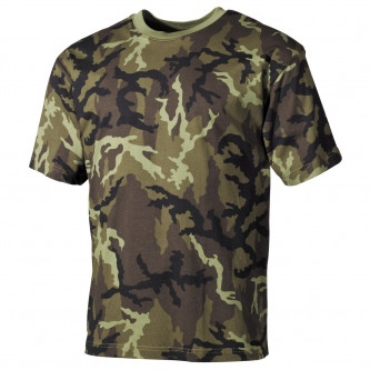 Тениска , камуфлажна , модел '' classic-style, M 95 CZ camo''