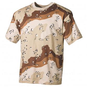 Тениска камуфлажна'' сикс колор дизърт''.