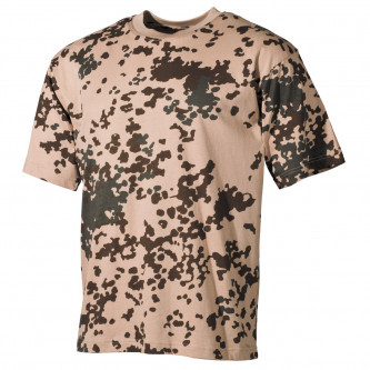 Тениска    камуфлажна   тропикал камо   100 процента ПАМУК.