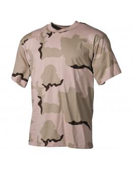 Камуфлажна тениска , '' classic-style, 3 colour desert''