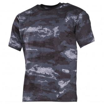 Тениска    камуфлажна    classic-style   HDT camo grey   170g/m²   100 процента памук