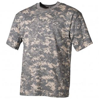 Тениска , камуфлажна , '' classic-style, AT-digital'', 170g/m²