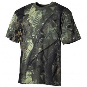 Тениска , камуфлажна , ''хънтър-грийн''камо .