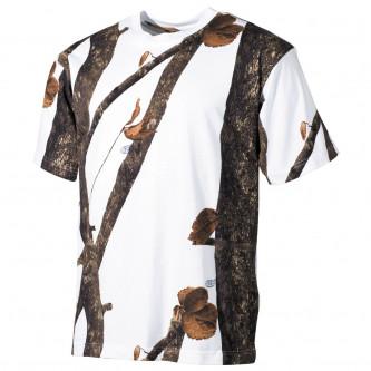 Тениска камуфлажна'' хънтър сноу''.