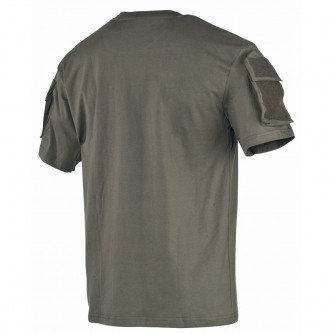 Тениска с велкро панели , цвят '' OD green''