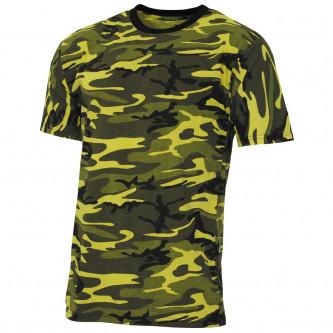 "Тениска , модел  ""Streetstyle"", yellow-camo"
