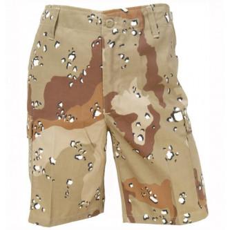 Къси панталони , камуфлажни , '' 6-COLOUR DESERT CAMO ''