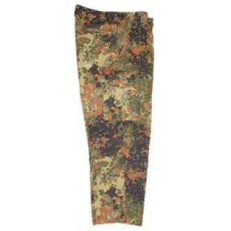 Панталон от немската армия'' флектарн '' камуфлаж , стар стандарт .