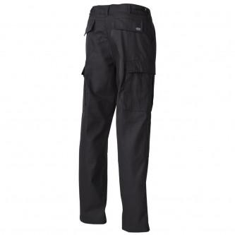 Панталон тактически US Combat Pants, BDU цвят черен с подсилени колене и дъно