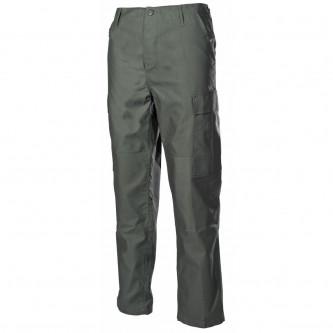 Панталон тактически US Combat Pants, BDU цвят  ''олив'' с подсилени колене и дъно