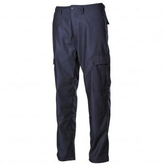 Панталон тактически US Combat Pants, BDU цвят син с подсилени колене и дъно