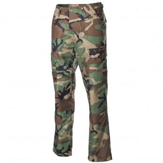 Панталон тактически US Combat Pants, BDU цвят  '' уудланд-камо'' с подсилени колене и дъно