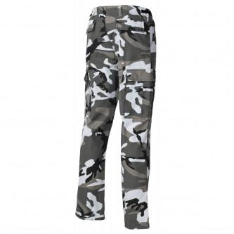 Панталон тактически US Combat Pants, BDU цвят '' ърбън-камо''с подсилени колене и дъно