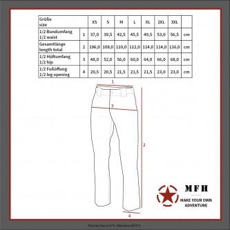 Панталон  тактически , модел '', US 6-COLOUR DESERT CAMO RANGER ''