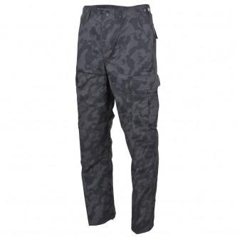 Панталон  тактически  ,US BDU Field Pants, Rip Stop, night camo, reinforced knees