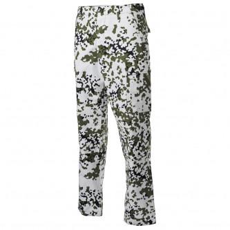 Панталон  тактически  ,US BDU Field Pants, Rip Stop, reinforced knees, snow camo