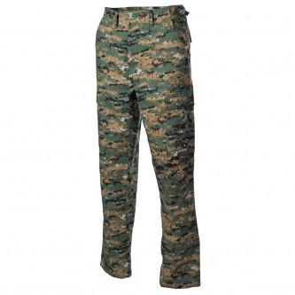 Панталон тактически камуфлажен   дигитал уудланд   рип стоп   100 процента памук