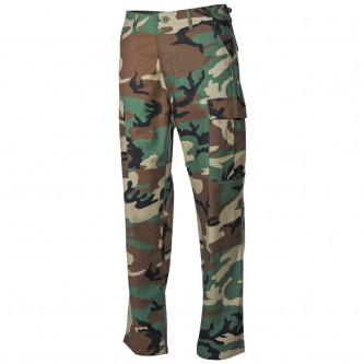 Панталон  тактически   , US BDU Field Pants, Rip Stop, woodland, reinforced knees
