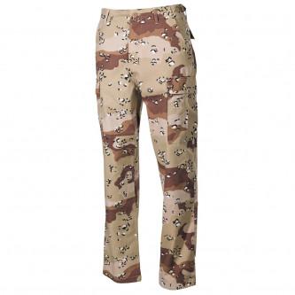 Панталон  тактически ,US BDU Field Pants, Rip Stop, 6 col. desert, reinf. knees