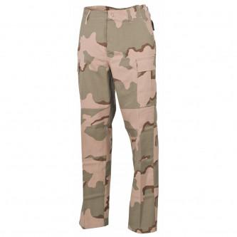 Панталон  тактически   , US BDU Field Pants, Rip Stop, 3 col. desert, reinf. knees