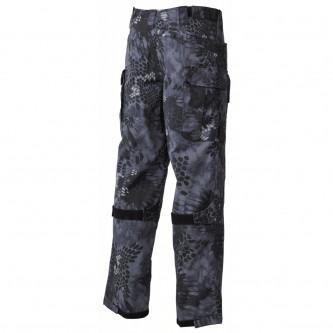 "Комбат панталон , модел  ""Mission "", Ny/Co, Rip Stop, snake black ."