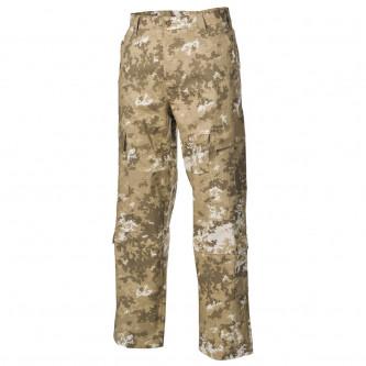 Панталон  тактически   ,с джобове за протектори , US ACU Field Pants, Rip Stop, vegetato desert