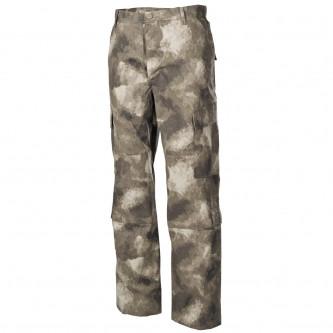 Панталон  тактически   ,с джобове за протектори , US ACU Field Pants, Rip Stop, HDT camo