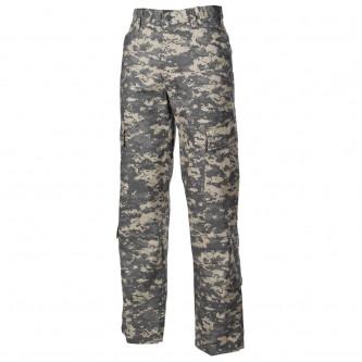 Панталон  тактически   ,с джобове за протектори , US ACU Field Pants, Rip Stop, AT digital