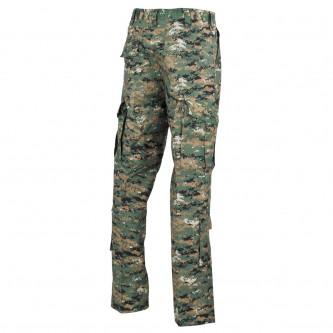 Панталон  тактически   ,с джобове за протектори , US ACU Field Pants, Rip Stop, digital woodland