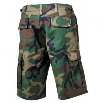 Къси камуфлажни панталони ,'' US BDU Bermuda, woodland, cargo pockets''