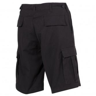Къси панталони,''US BDU Bermuda, Rip Stop, black '' , 100% памук , рип-стоп .