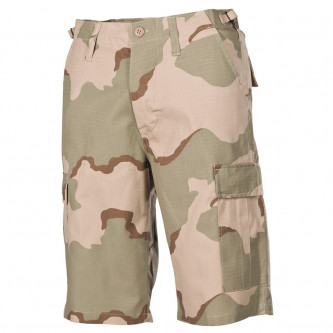 Къси камуфлажни панталони ,'' US BDU Bermuda, Rip Stop,, 3 col. desert '' , 100% памук , рип-стоп .