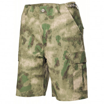 Къси камуфлажни панталони   US BDU Bermuda   Rip Stop, HDT camo green   100% памук    рип  стоп