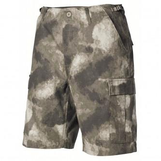 Къси камуфлажни панталони   US BDU Bermuda  Rip Stop  HDT camo   100% памук   рип стоп
