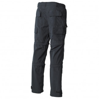 Мултифункционален панталон , модел ,  microfiber, black .