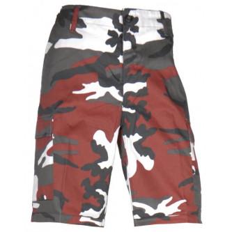 Къси камуфлажни панталони ''US RED CAMO '' .