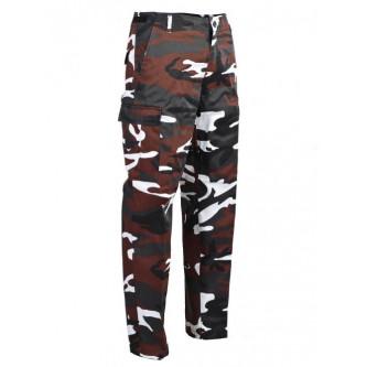 Камуфлажен панталон , тактически ,''  RED-CAMO RANGER''
