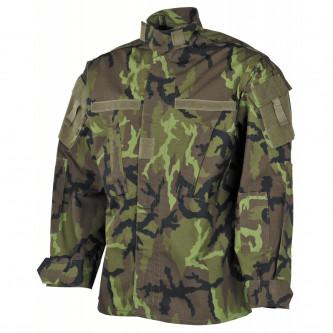 Риза-яке , камуфлажна , рип-стоп , 100% памук, M 95 CZ camo