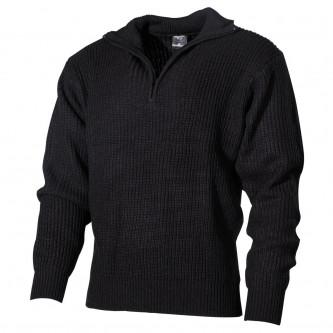 Пуловер ''Navy ''  , черен .