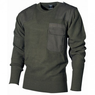 BW пуловер, '' OD green'', 100% акрил